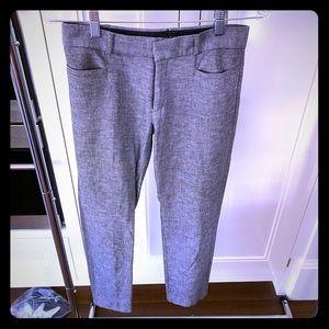 Sloan gray dress pant